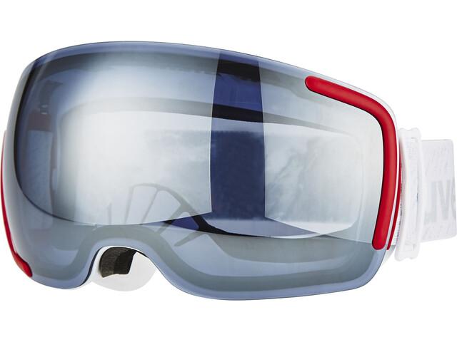 UVEX Big 40 LM - Gafas de esquí - gris/blanco